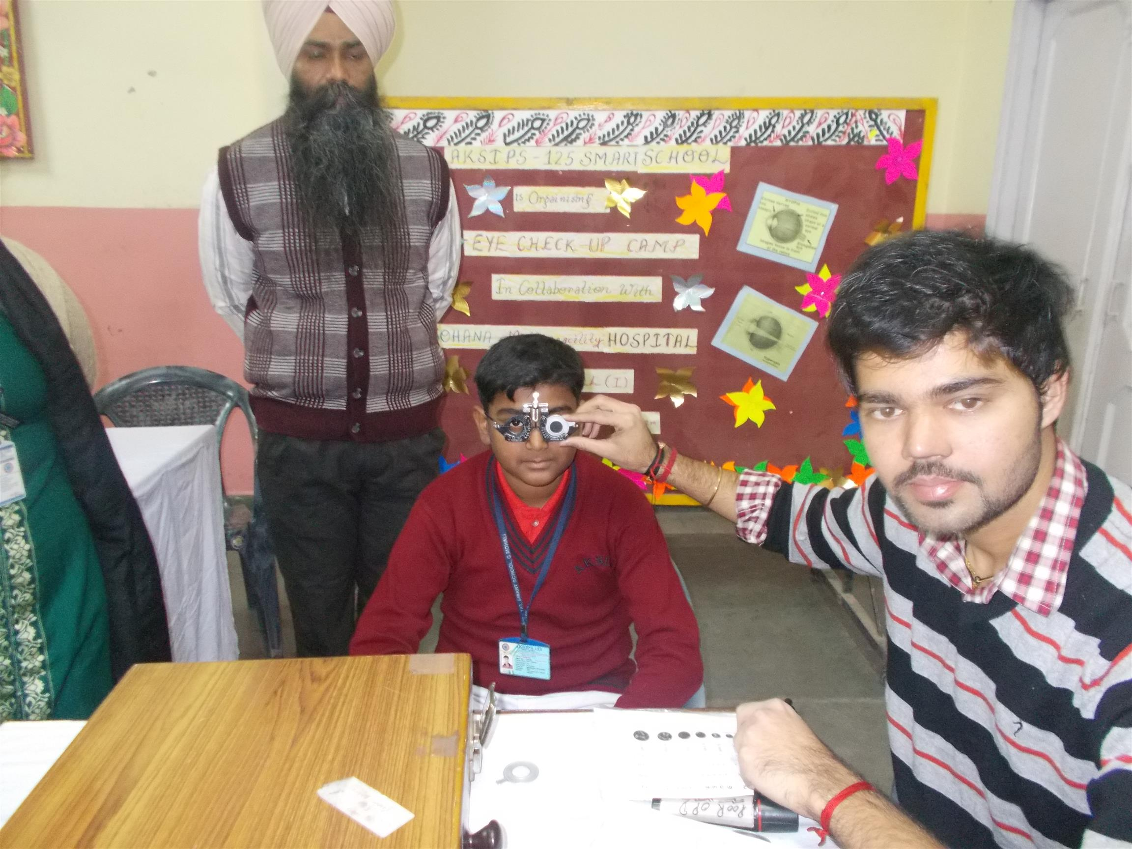 Eye Camp- 2018 | AKSIPS 45 Chandigarh