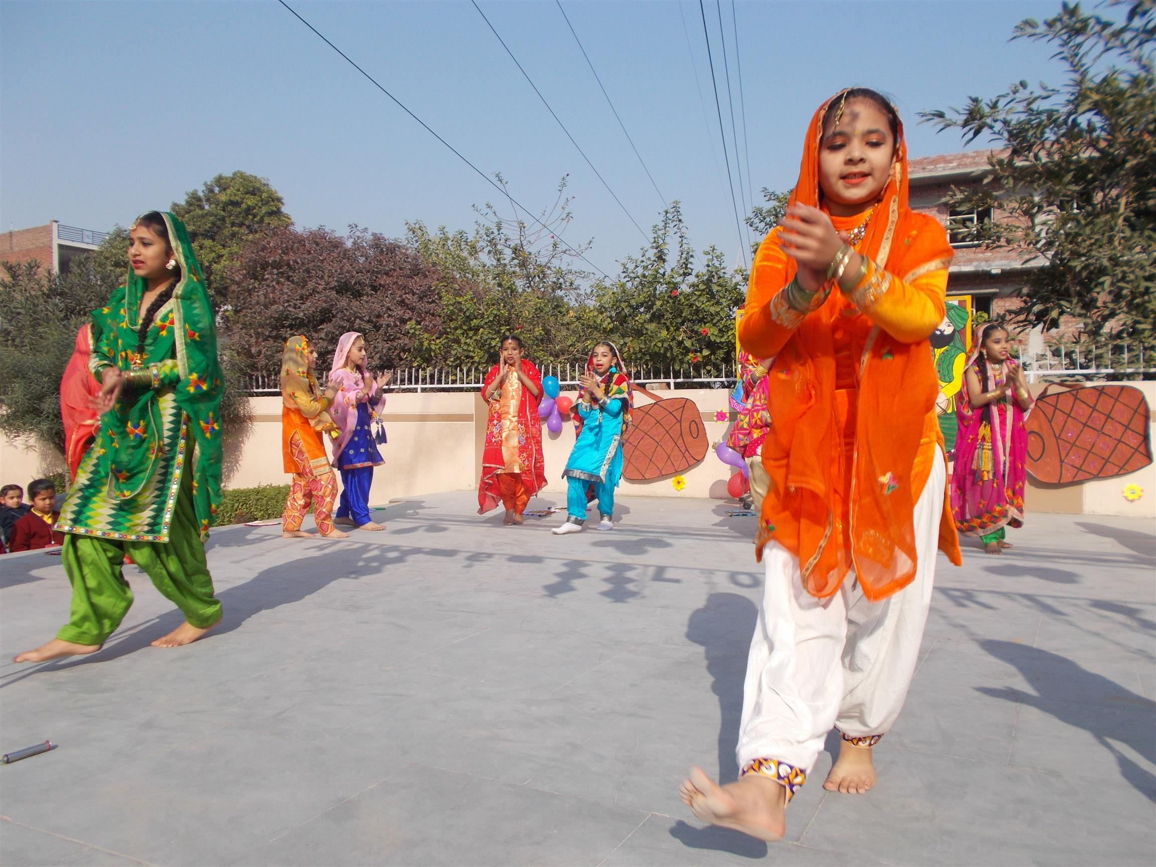 Lohri Celebrations- 2018 | AKSIPS 125 Chandigarh