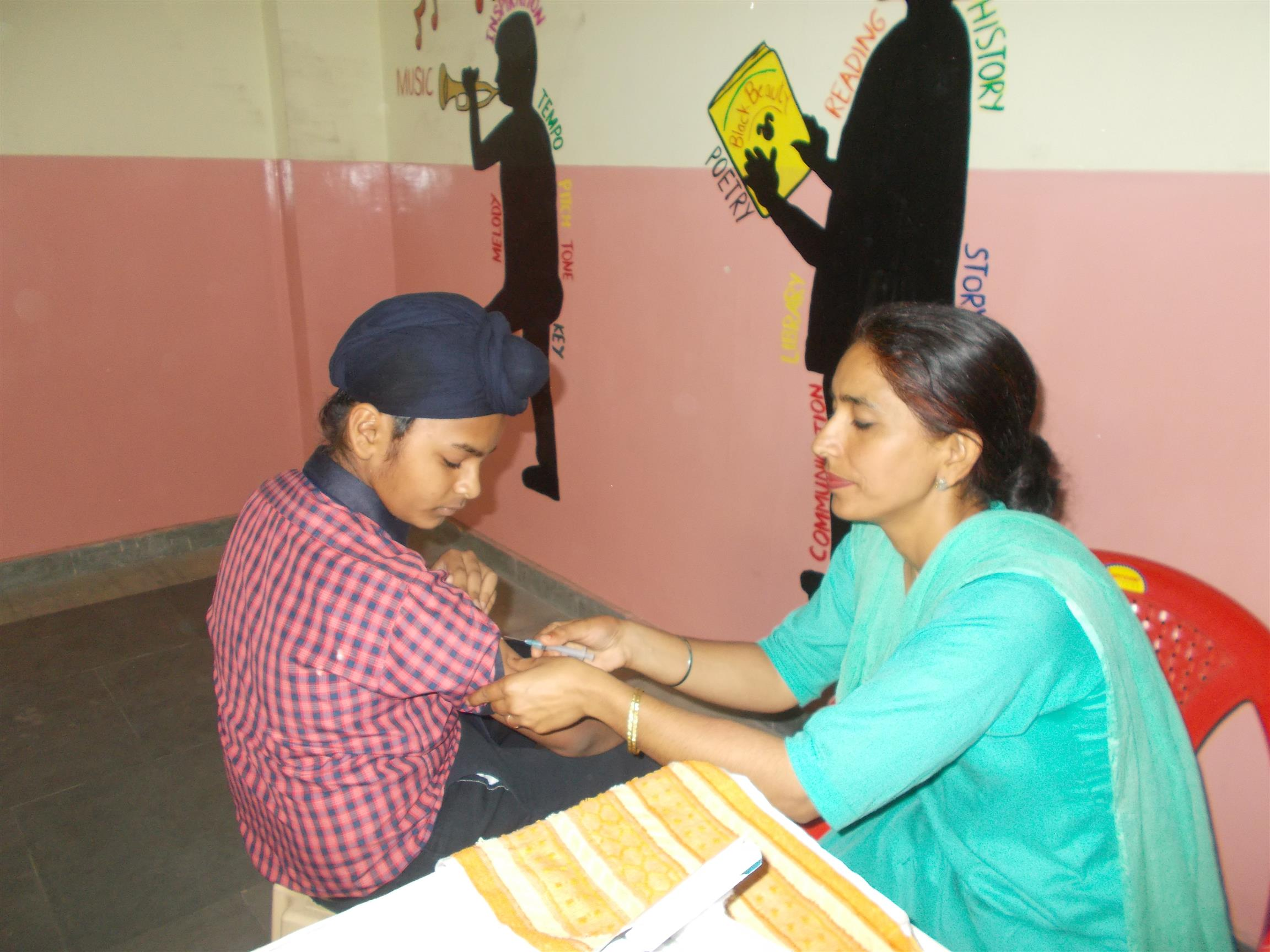Measels/ Rubella Vaccination | AKSIPS SECTOR-125 CHANDIGARH