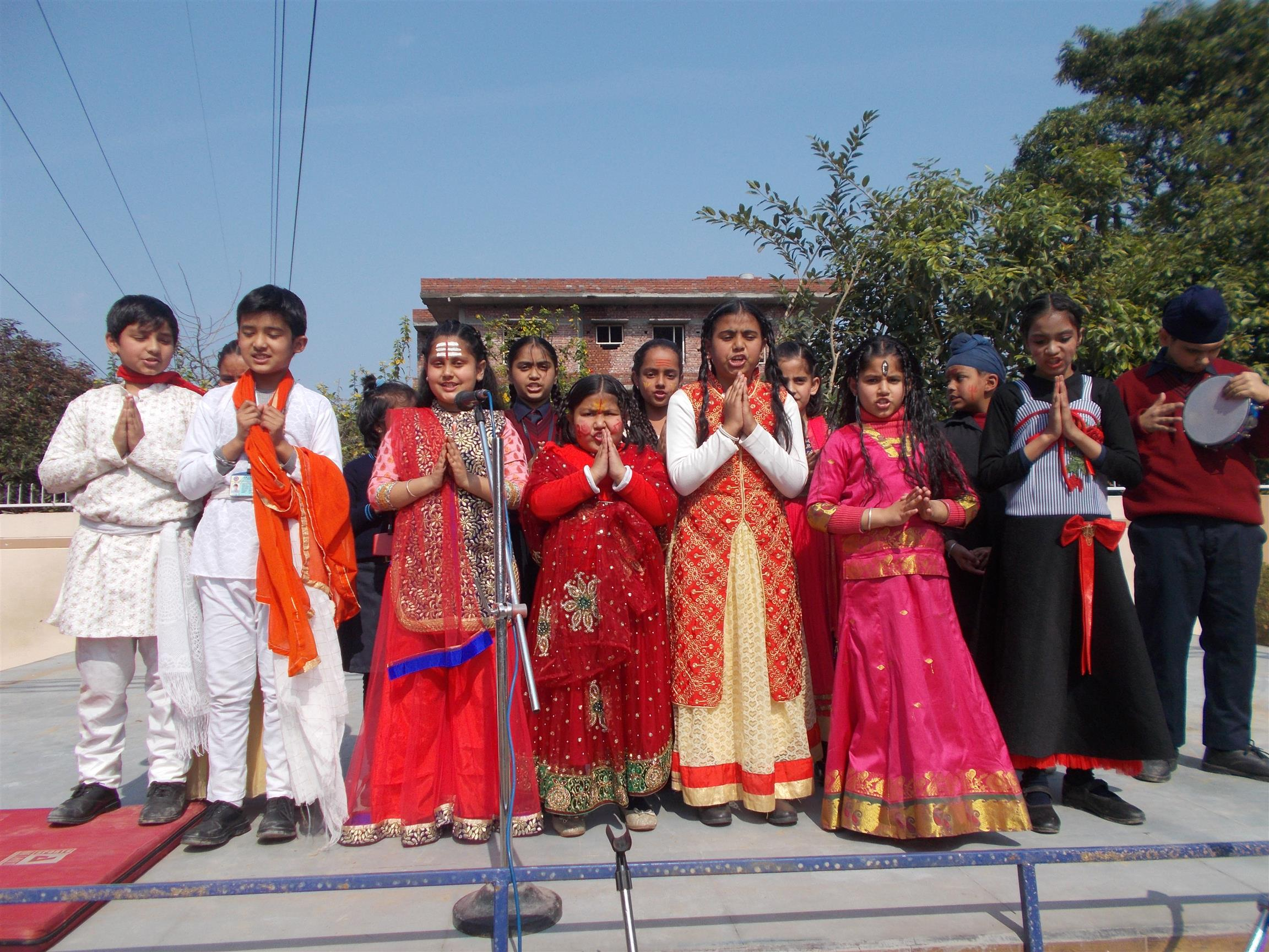 Shivratri celebrations | AKSIPS 125 Chandigarh