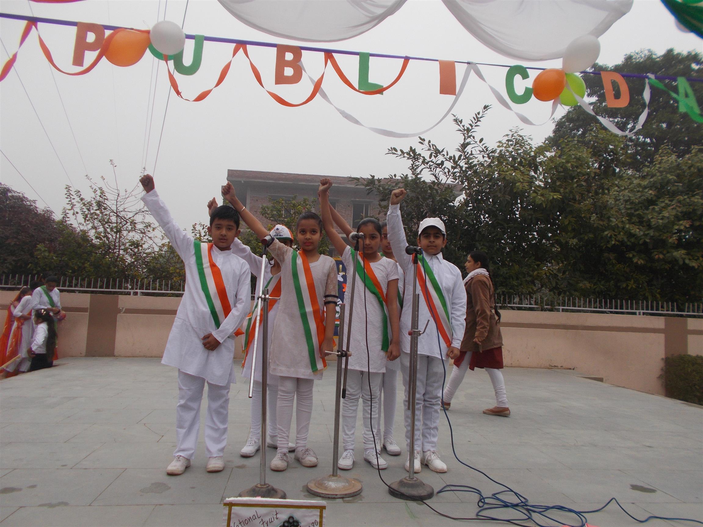 Republic Day Celebration | AKSIPS 125 Chandigarh