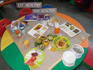 Healthy Tiffin Pre Nursery | AKSIPS 125 Chandigarh