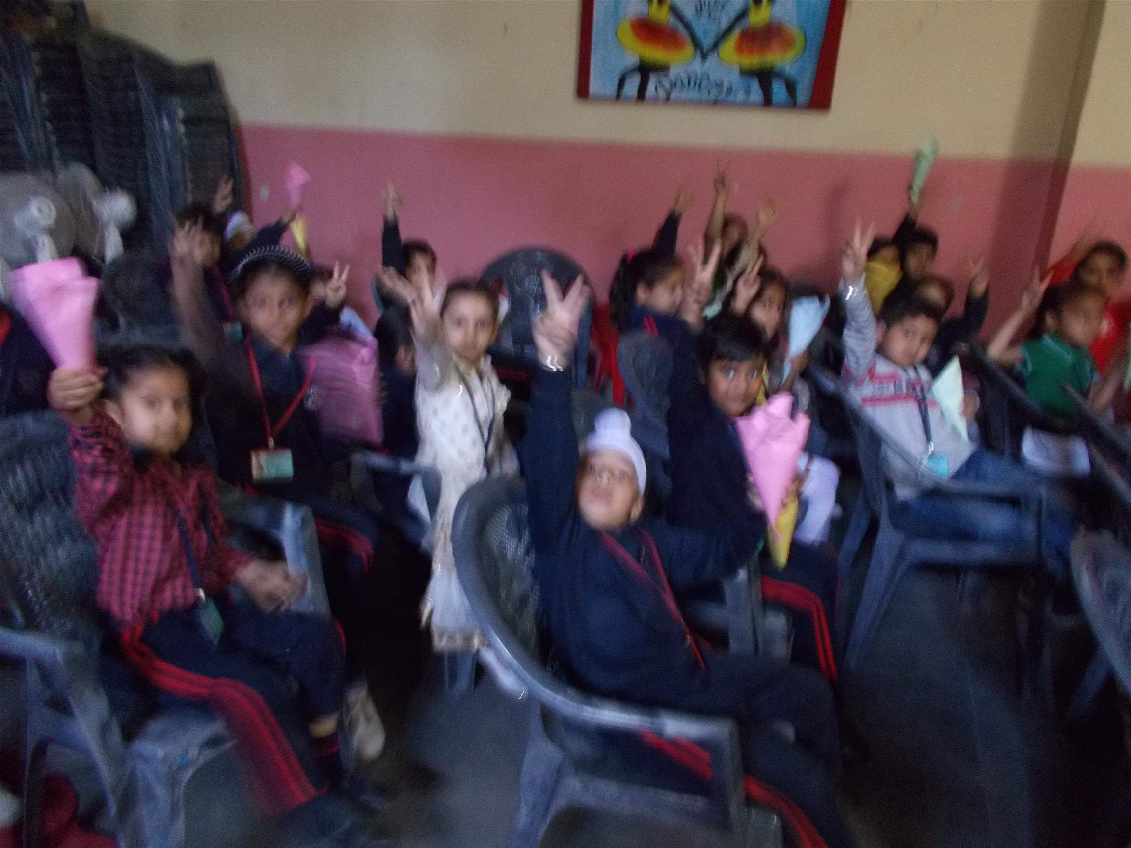 Movie Time (Pre Primary) | AKSIPS 125 Chandigarh