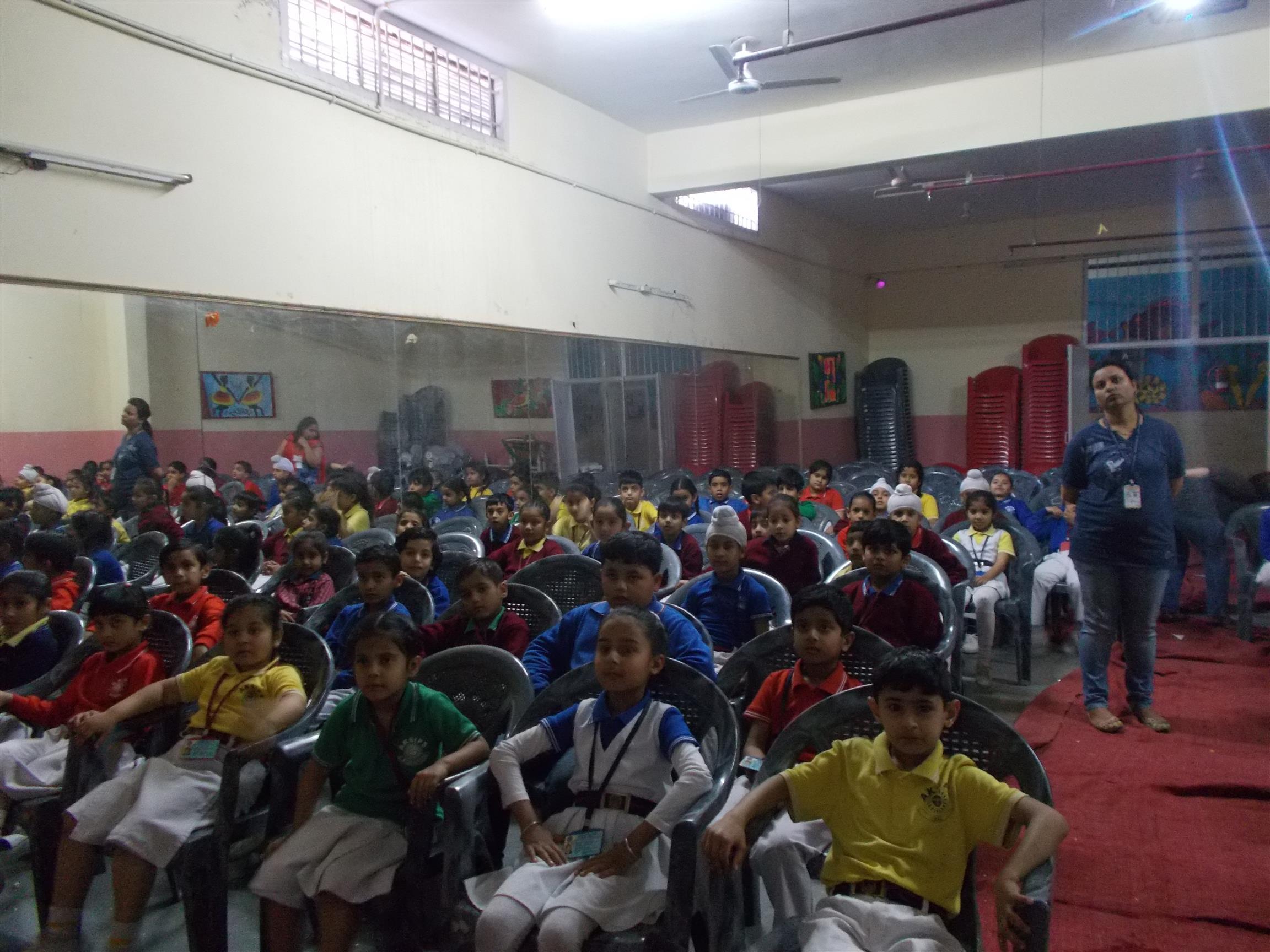 Movie Time (Pre Primary) | AKSIPS 125 Chandigarh