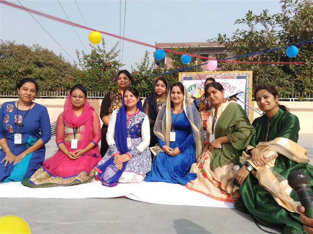 Children's day celebration 2017 | AKSIPS 125 Chandigarh